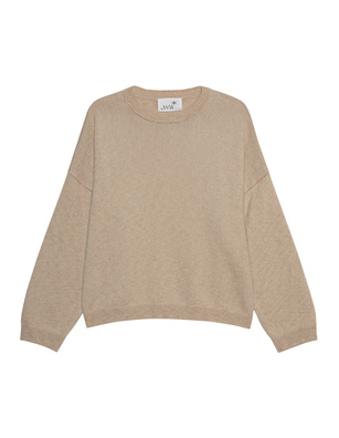 JUVIA Knit Loose Wool Cashmere Beige