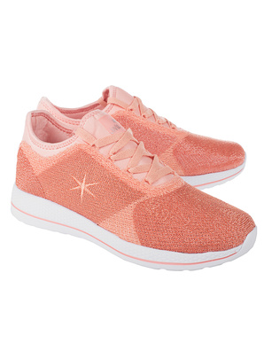 JUVIA Light Weight Glitter Coral