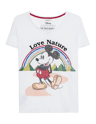 FROGBOX Big Mickey Love Nature White