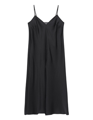 ROTATE Slip Dress Black