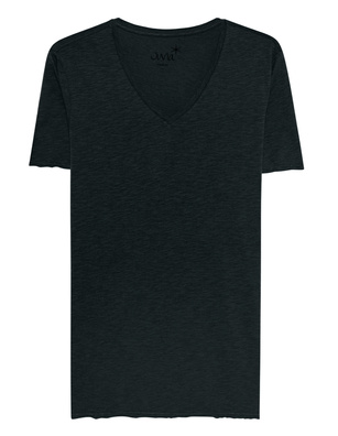 JUVIA V-Neck Shirt Navy
