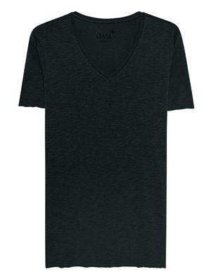 JUVIA V-Neck Shirt Navy