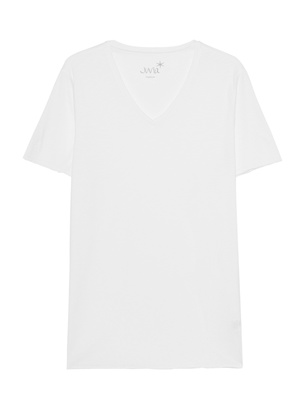 JUVIA V-Neck White