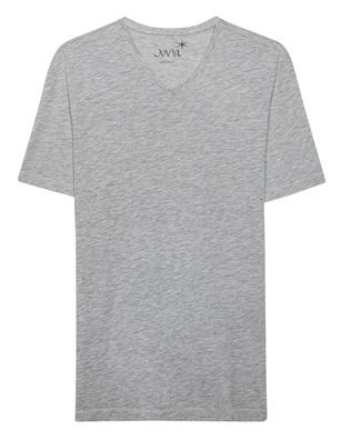 JUVIA V Neck Short Grey