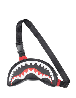 SPRAYGROUND Shark Crossbody Black
