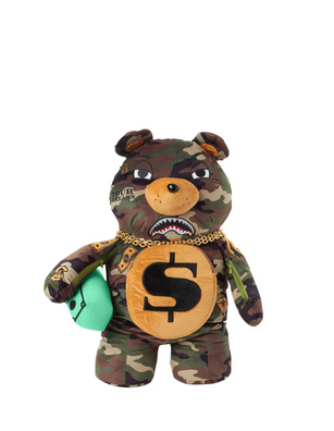 SPRAYGROUND Money Bear Camouflage