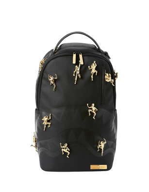 SPRAYGROUND Gold Ninja Black