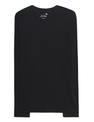 JUVIA V Neck Black