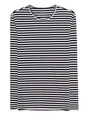 JUVIA Striped Black White