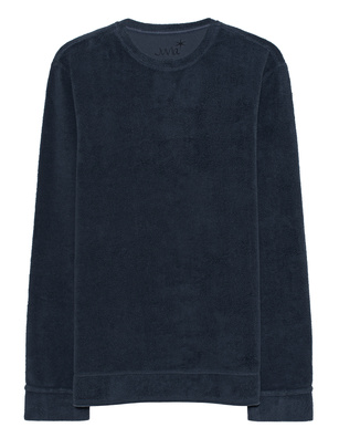 JUVIA Teddy Fleece Iron Blue