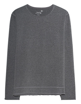 JUVIA Basic Crew Anthracite