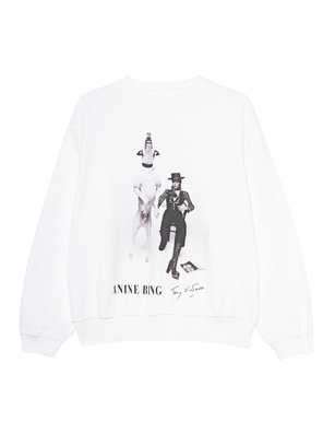 ANINE BING RAMONA AB X TO DAVID BOWIE EXCLUSIVE WHITE