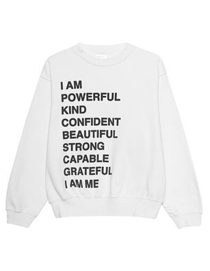 ANINE BING Ramona Empowerment White