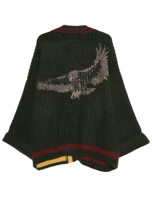 CAMOUFLAGE COUTURE STORK Oversize Eagle Green