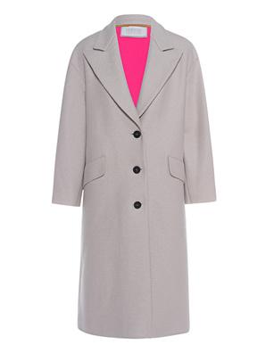 HARRIS WHARF LONDON Oversize Coat Off-White