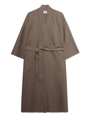 HARRIS WHARF LONDON Kimono Light Pressed Wool Beige