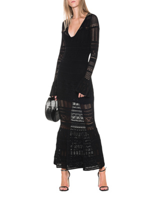 ALEXIS Darcie Knitted Black