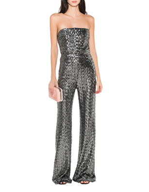 ALEXIS Carleen Sequined Silver