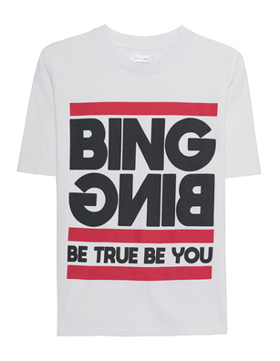 ANINE BING Be True Be You White