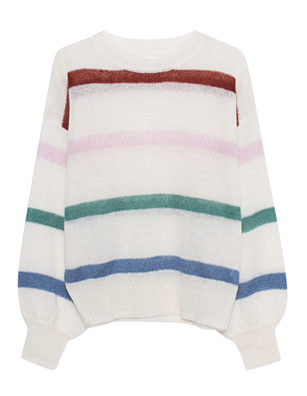 ANINE BING Lydia Stripes Off-White
