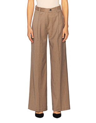 NINE IN THE MORNING Alice Wide Leg Beige