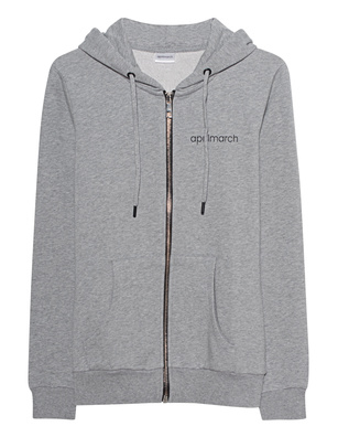 aprilmarch Glitter Hood Grey