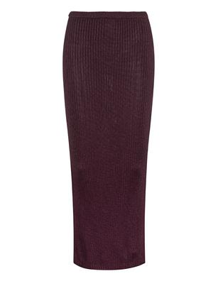 AYA MUSE Amethyst Ribbed Sangria Purple