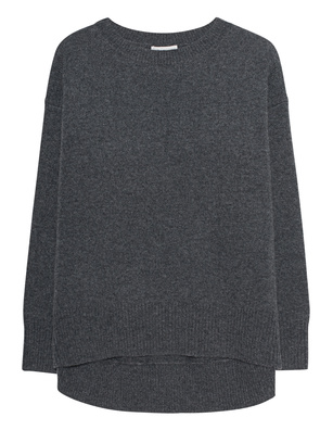 OATS Cashmere Round Neck Grey