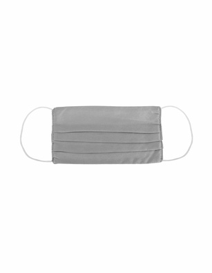 JADICTED Face Mask Silk Anthracite