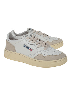 Autry Suede White
