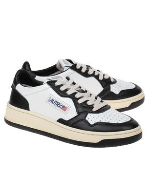 Autry Low Leather White Black