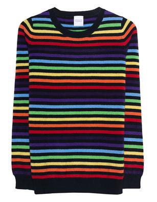 Madeleine Thompson Mars Rainbow Multicolor