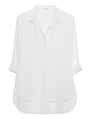 bella dahl Tail Button Down White