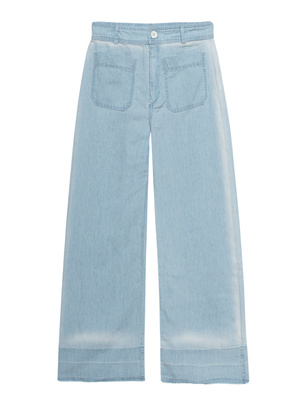 bella dahl Frontbag Pants Light Blue