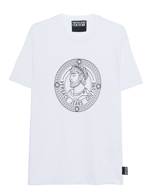 VERSACE JEANS COUTURE Print Shirt White