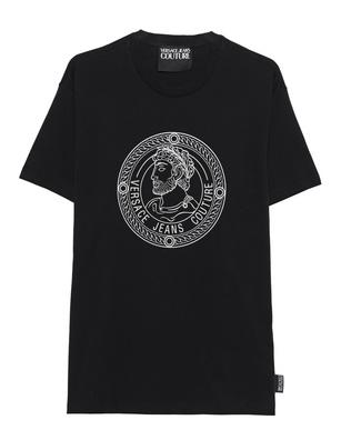 VERSACE JEANS COUTURE Print Shirt Black
