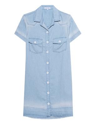 bella dahl Shirt Dress Light Blue