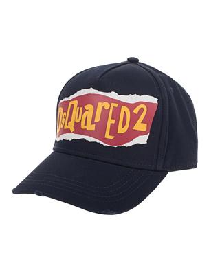 DSQUARED2 Cap Logo Dsq Navy