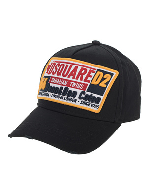 DSQUARED2 Dsquared Racing Patch Black