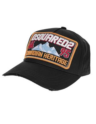 DSQUARED2 Canadian Heritage Cap Black