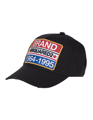 DSQUARED2 Brand Cap Black