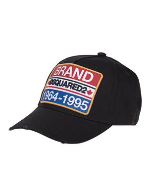 DSQUARED2 Brand Cap Black