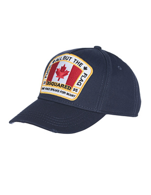 DSQUARED2 Canada Logo Navy