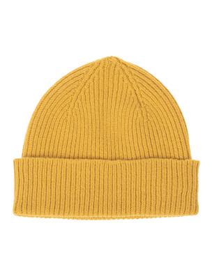 LE BONNET Clean Knit Mustard