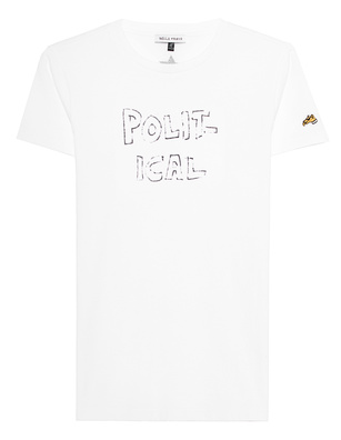 Bella Freud Political Shirt White