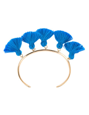 Marte Frisnes Raquel Tassel Bangle Blue