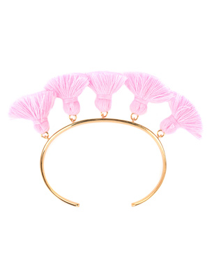 Marte Frisnes Raquel Tassel Bangle Bubble Gum