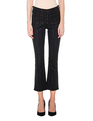 AG Jeans Jodi Crop Button-Up Black
