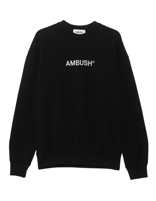 AMBUSH Regular Fit Crew Black