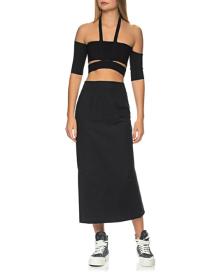 AMBUSH Off-Shoulder Stretch Black